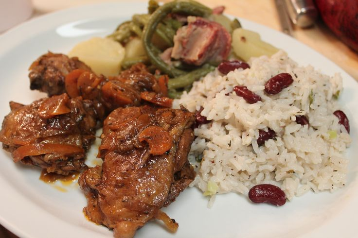 Brown Stew Chicken recipe.