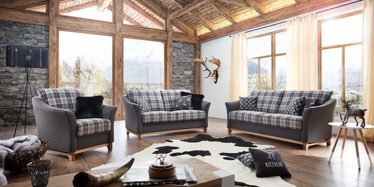 9 best Wohnzimmer images on Pinterest Living room, Red sofa and - wohnzimmer couch gemutlich
