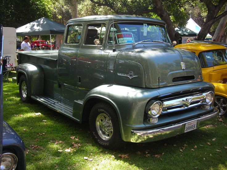 1956 Ford crew cab COE | 1953-1956 Ford C Series | Pinterest | Ford