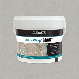 Stainmaster Classic 5.5-Lb Silver Sanded/Unsanded Epoxy Grout C.220-2.5Kg