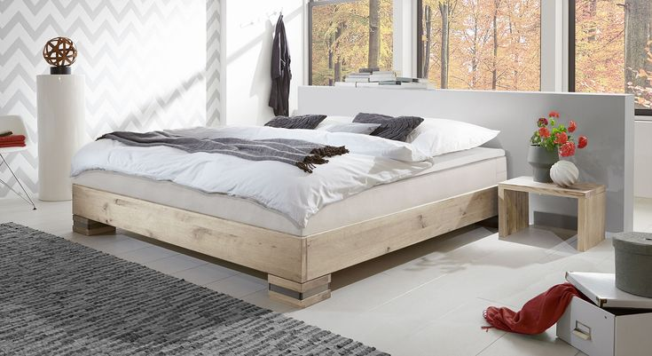 moderne boxspringliege ohne kopteil perfekt f r schlafzimmer mit dachschr gen geeignet. Black Bedroom Furniture Sets. Home Design Ideas