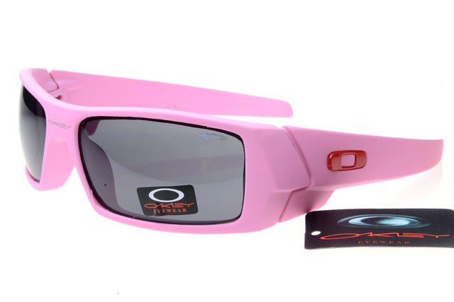 Oakley Limited Editions Sunglasses Pink Frame Gray Lens 0748