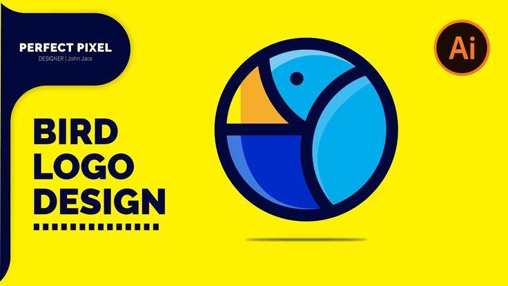 Illustrator Tutorials | Bird Logo Design