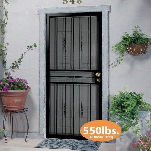 First Alert Store - First Alert 681FA36X80 Venetian Security Screen Door 36IN X 80IN (Black & 14 best Doors images on Pinterest | Front doors Entrance doors and ...
