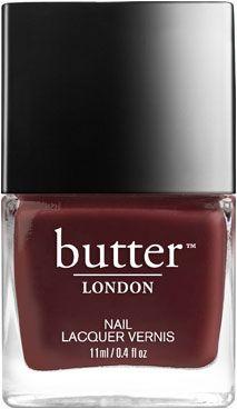 Tramp Stamp Nail Lacquer : Dark Chocolate Brown Nail Polish : butter LONDON