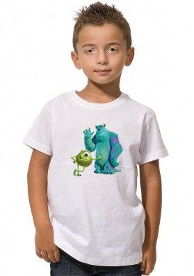 Camiseta Monstruos SA