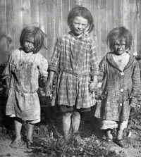 Workhouse orphans 1800s from Sherry R.-- The poor little things...(m).