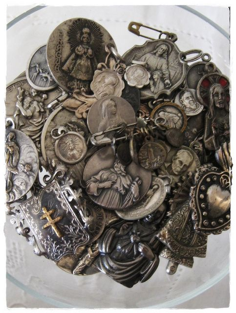 Catholic Religious Medal Collection