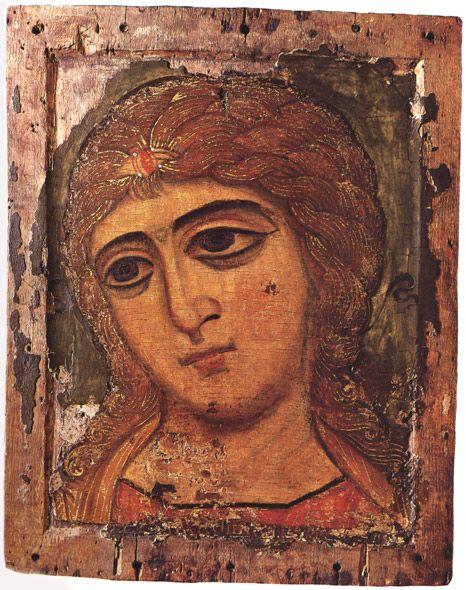 Goldenlocks:Archange Gabriel, Novgorod (XIIe siècle) musée russe