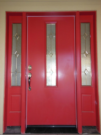 Red door on Lawson Construction home .- Google+ dlawson.com & 85 best Entries and Doors images on Pinterest | The doors English ...