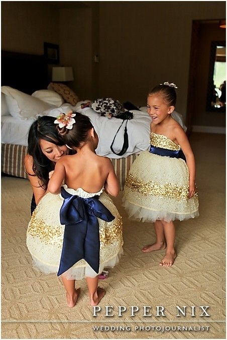 Gold Constellation Dress   41 Flower Girl Dresses That Are Better Than Grown-Up PeopleDresses