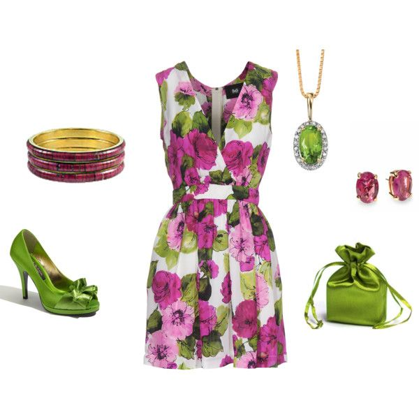 Spring Tea Time, [created by lislyn] using Styles by D Nina, Dainty and Fresh Beauty