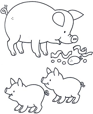 Ms de 25 ideas increbles sobre Dibujo de cerdo en Pinterest