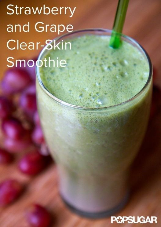 healthy vegetable smoothie recipes Sip Your Way to Clearer Skin - Breakouts are the worst, and if it seems like a constant battle between you and your face, its time to feed your skin from the inside out.
