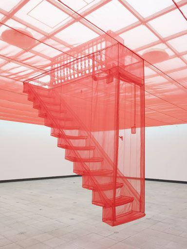 Do Ho Suh's Staircase V Art Experience:NYC www.artexperience...