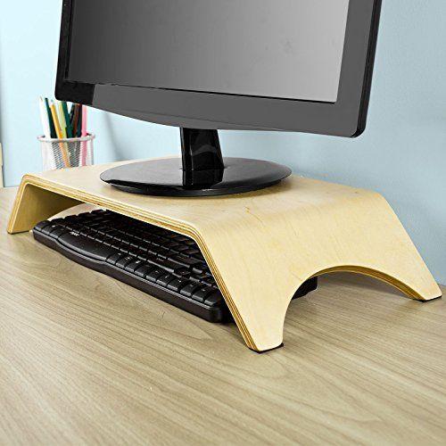 SoBuy® FRG98-N Support Moniteur Écran PC TV LCD, Support écran ergonomique en bois pour bureau: Cet article SoBuy® FRG98-N Support Moniteur…