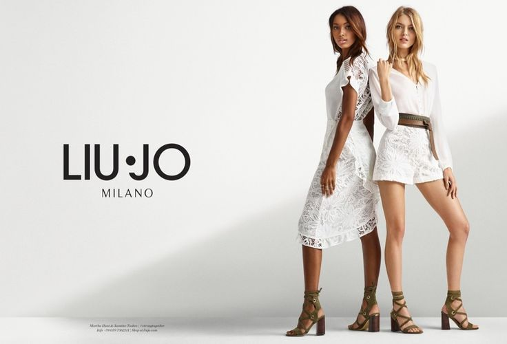 Top models Martha Hunt and Jasmine Tookes join forces for the spring-summer 2017 campaign from Liu Jo. The Victoria's Secret Angels take over from Karlie Kloss and Jourdan Dunn who fronted the brand's previous seasons. Captured by Christian MacDonald, Jasmine and Martha appear in the denim and mainline advertisements. In one shot, the pair pose …