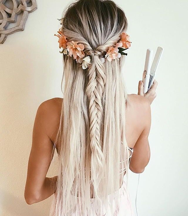 Swell 1000 Ideas About Fishtail Braid Hairstyles On Pinterest Hairstyle Inspiration Daily Dogsangcom