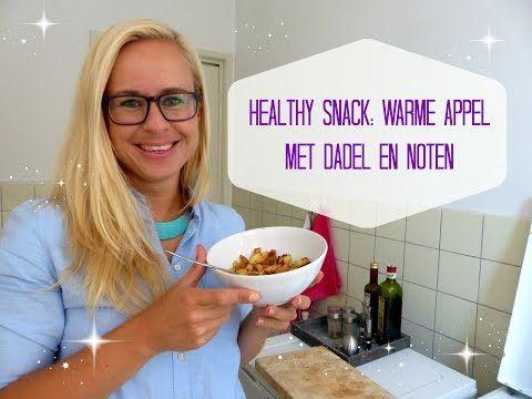 Healthy Snack: Warme Appel met Dadel en Noten - YouTube