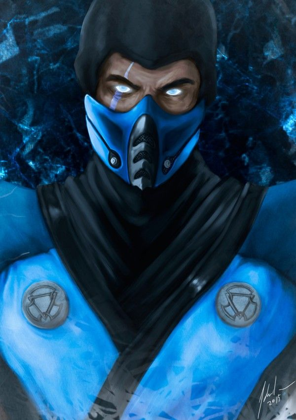 Arte Geek da Semana: Mortal Kombat Collab