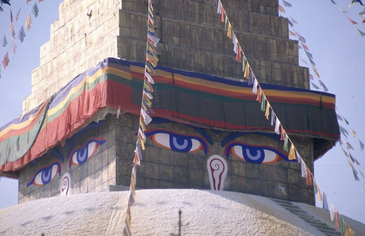 Katmandu: Stupa Pashupatinath