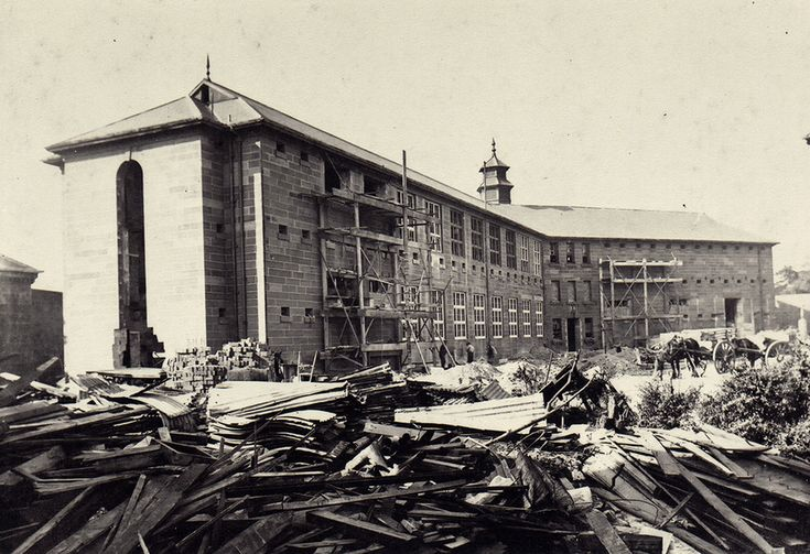Conversion of E wing, East Sydney Technical College c1921