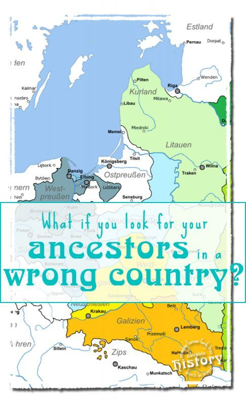 if boundaries of german states territories counties and towns changed over time you might be searching for your ancestors in the wrong countrys archives