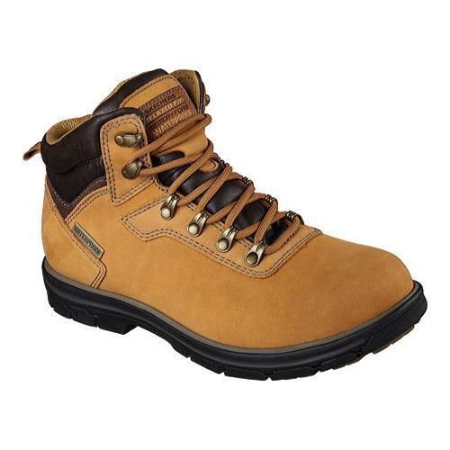 Skechers Men's Boots Relaxed Fit Segment Ander Wheat