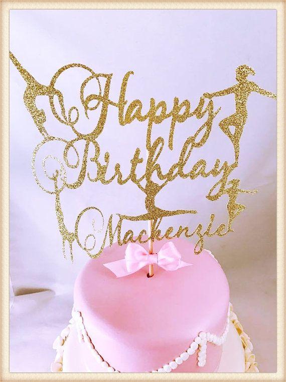 Gymnastics Cake Topper - Gymnastics Party Decorations - Gymnastics Party Decor - Gymnastics Party Centerpiece - Birthday Party Cake Topper