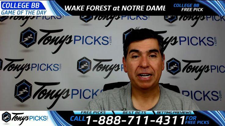 Wake Forest vs. Notre Dame Fighting Irish Free NCAA Basketball Picks and...
