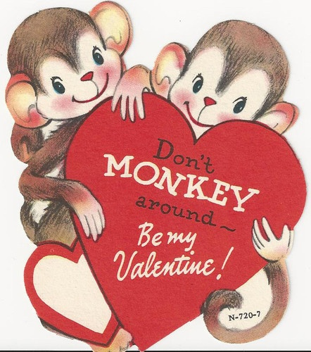 100 ideas to try about Valintine Cards Decor – Monkey Valentine Cards