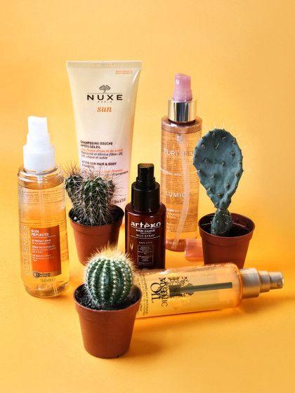 Die beste Sommer Haarpflege? Schutz und Feuchtigkeit. Am einfachsten geht das mit den neuen leichten Haarsprays! Alle Infos gibt's hier »