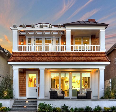 This one in Newport Harbor. | 21 Gorgeous Beach Houses That Are Doing It Right