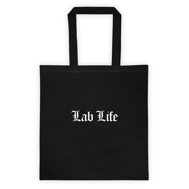 Lab Life Tote Bag | Products | Pinterest