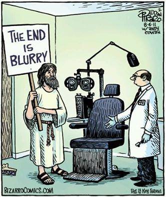 Optical / Eye joke