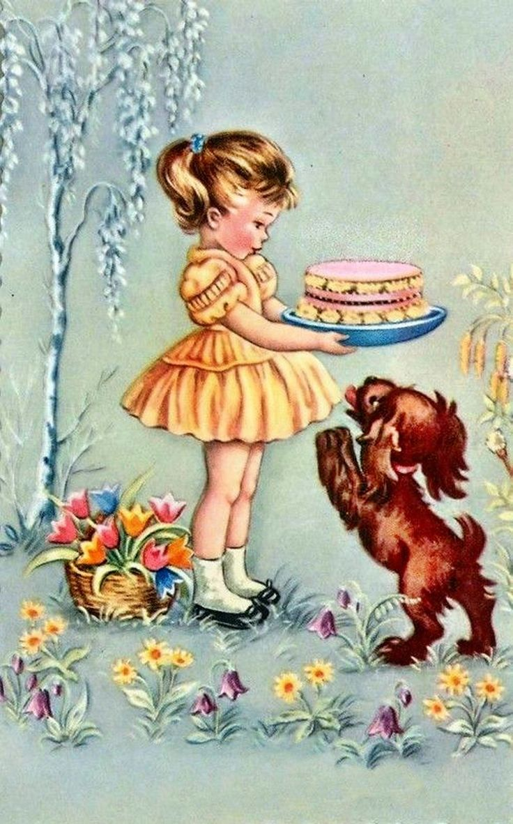 75 Best Vintage Birthday Images On Pinterest Happy Birthday