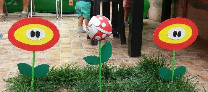 Plantas decorativas Mario Bros.