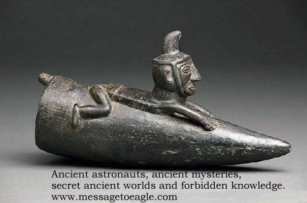 Anunnaki And Their Magnificent Spaceships - Evidence Of Ancient Aliens Flying In The Skies - MessageToEagle.com