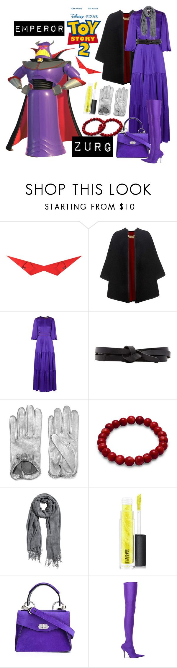"""Emperor Zurg"" by allyssister ❤ liked on Polyvore featuring Burberry, Roksanda, Isabel Marant, Causse, H&M, MAC Cosmetics, Proenza Schouler and Balenciaga"