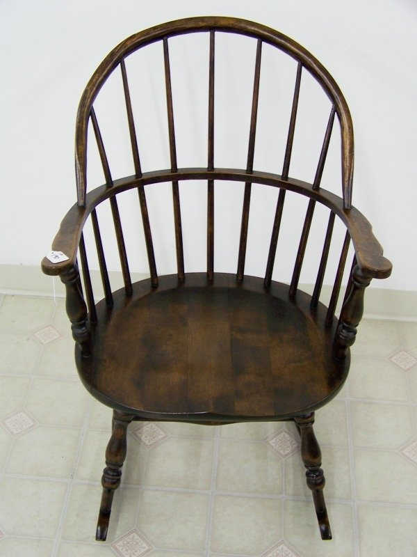 Image Detail for - Antique Windsor Rocking Chair : Lot 190 - 77 Best Windsor Chairs Images On Pinterest Chairs, Antique