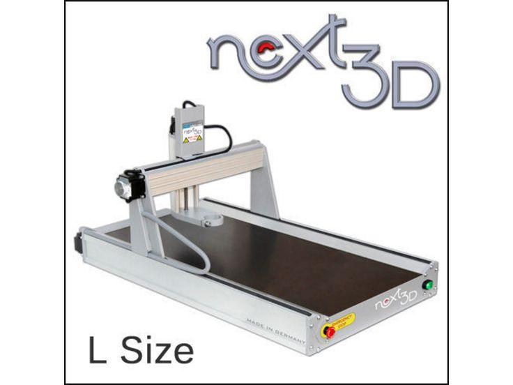 GoCNC Next3D CNC-Fräsmaschine L mit Holztisch