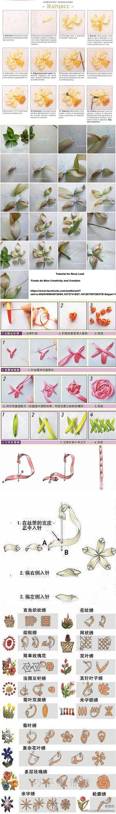 fljuida.com ribbon embroidery
