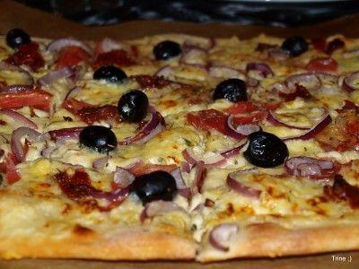 » En litt annerledes pizza