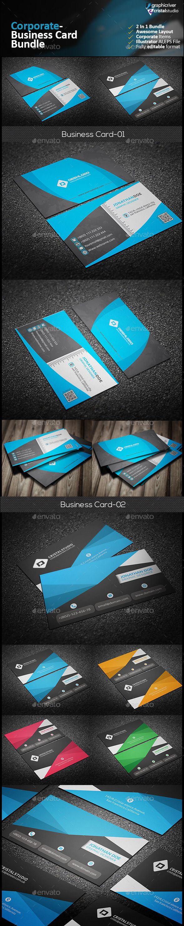 54 best supper creative business card images on pinterest business business card bundle 2 in 1 reheart Images