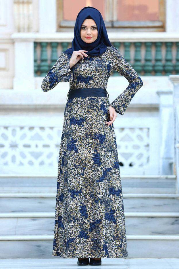 أحلى موضة فساتين محجبات 2018 عالم الصور Muslim Women Dress Evening Dresses Muslim Women Fashion