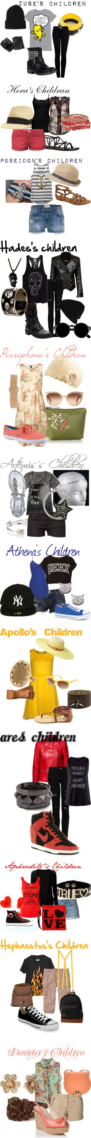 """Greek Gods and Godesses"" by iskbug on Polyvore"