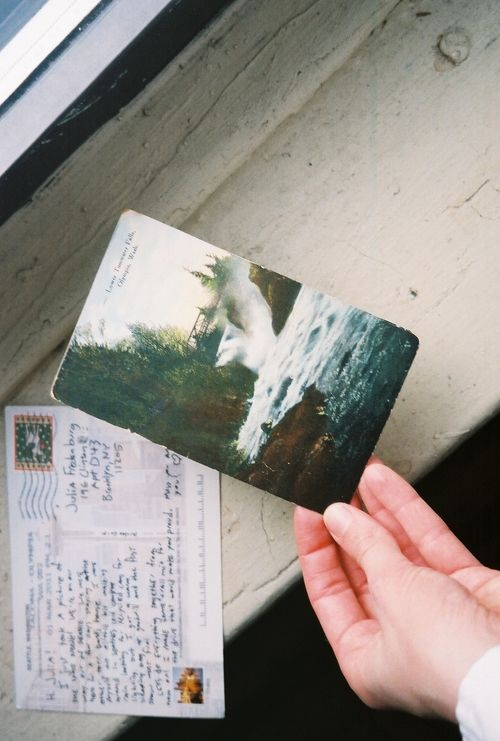 Postcard for Julia | Julia Fredenburg on Flickr, March 2011