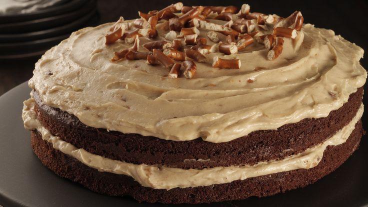 MasterChef Canada - Chocolate and Peanut Butter Layer Cake
