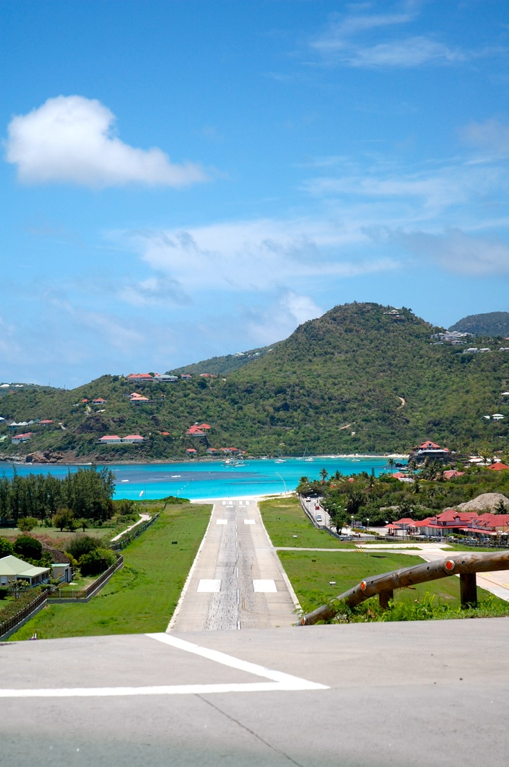 Where to land? St Barths