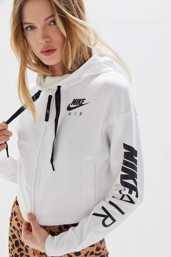 95c0d93061 Nike Air Zip-Up Cropped Hoodie Sweatshirt | Fashion #Shopstyle in ...